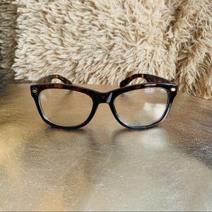Tection Tortoise Square Glasses